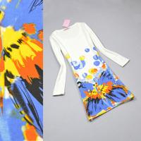 Women's 2013 autumn and winter slim hip basic dress autumn fashion ol slim dress