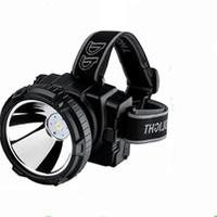 Free Shipping Dp led-780 flashlight emergency headlight glare 5w 4800 ma battery