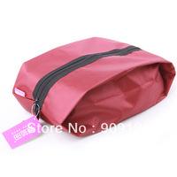 Travel Shoes Zip Bag Waterproof Nylon Tote Storage Bag