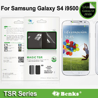 Benks For Samsung Galaxy S4 i9500 Screen Protector, Magic TSR HD frosted and anti-glare set series protection film Free shipping