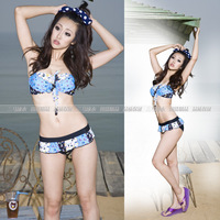 bikini sexy swimwear hot style Swimsuit fashion pretty 2013 new bathing suit gift present Free Shipping