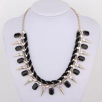Rivet velvet necklace female short design accessories fashion decoration