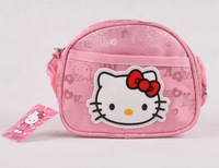 Free shipping!  On sales  Hello Kitty bag Messenger Cute Cartoon children packet bags