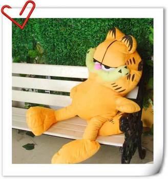 Garfield plush toy cloth doll birthday gift girls doll duomaomao Large 60cm