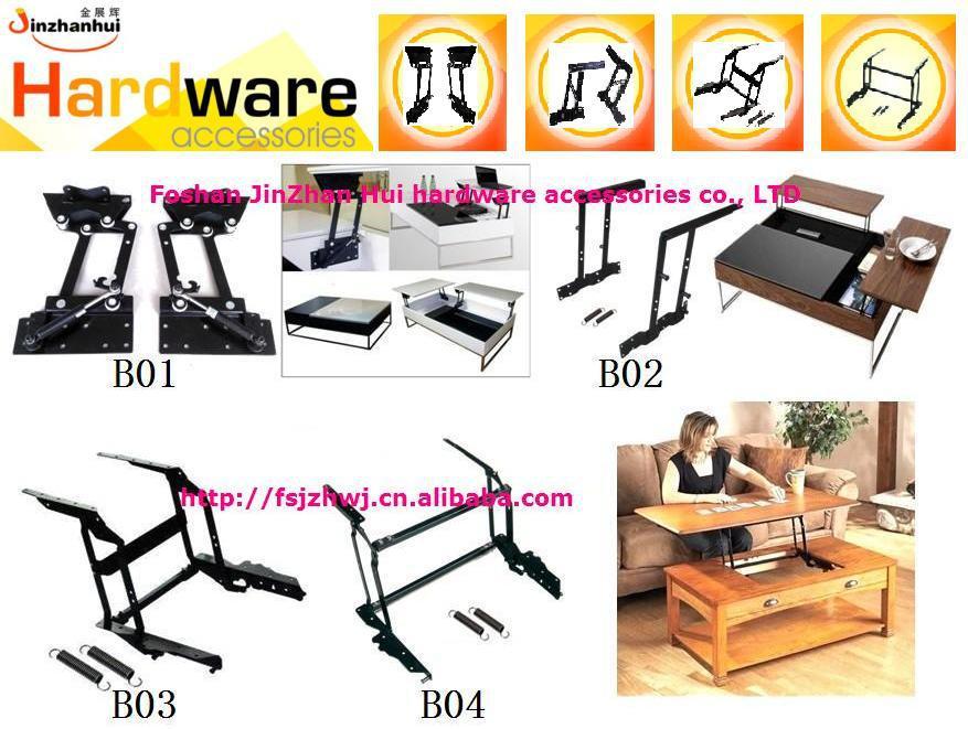 New design coffee table hinge