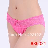 women cotton lace many color size sexy underwear/ladies panties/lingerie/bikini underwear pants/ thong/g-string 6321-24pcs