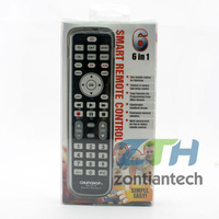 Wholesale 10pcs/lot  Chunghop RM-L618 2*AAA Combinational Learning Remote Control For TV/SAT/DVD/CBL/DVB-T/AUX Free Shiping