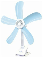 Mini clip-on fan Gentle Quiet wind clamp fan for good study and working safe touching stop Long life time 8W to 11W Dia 50cm