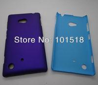 20pcs/lot Free shipping wholesale-Newest Rubberized Hard Plastic Cover Case for Nokia Lumia 720