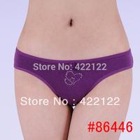 women cotton lace many color size sexy underwear/ladies panties/lingerie/bikini underwear pants/ thong/g-string 6446-3pcs