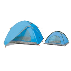 Hot Sale Good Quality Double Layer Two-door Aluminum Rod Alpine Tents Outdoor 3 - 4 Man Hiking Tent Camping Tent Mountain Tent(China (Mainland))