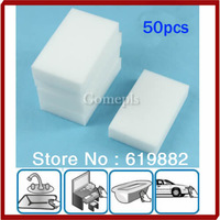 A31 Hot 50PCS/LOT Car Auto Magic Multi Sponge Clean Foam Cleaner Cleansing Eraser Wash Kitchen Wholesale