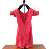12 V-neck small cashmere cardigan all-match chromophous outerwear autumn and winter sweater