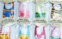 [Free Shipping] Top Quality! all cotton anti slip infant socks , baby shoe sock , slipper sock multicolor