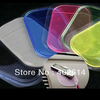 Powerful Silica Gel Magic Sticky Pad Anti-Slip Non Slip Mat for mobile  Phone PDA mp4 mp3 1000pcs/lot free shipping by dhl