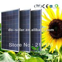 Drop shipment, 210W Solar panel price, Grade A polycrystalline silicon solar cells, 2013 new in stock