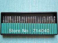 "Free shipping, Diamond Bits 30 pcs kit For Dremel grinder 1/8"" NR, factory price"