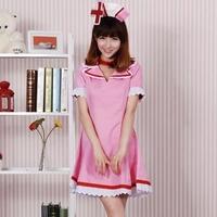 cosplay anime  Hatsune Miku VOCALOID2  lolita kimono dress Nurse clothing sexy pirate costume