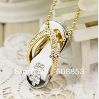 N102    Fashion Crystal USB 2.0 Enough Memory Stick Flash pen Drive  4GB/ 8GB/16GB/32GB Free Shipiing