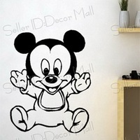 Cartoon Child PVC Wall Sticker ,Wall Decal ,Wallpaper, Room Sticker, House Sticker Free Shipping K-121