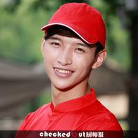 Adjustable Cotton fashion female male red women hat cap sun-shading working cook baseball chef waiter hotel restaurant free ship
