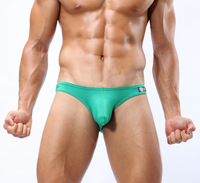 Free shipping nylon low-waist men's briefs mens underwear style cheap men underwear