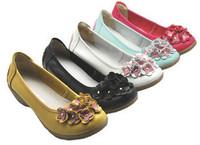 Genuine leather gentlewomen flower shoes wedges shoes mother shoes casual shoes work shoes 9913