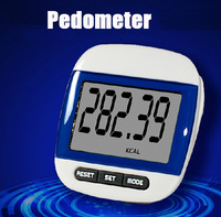 Large LCD Display Running Walking Jogging Pedometer Step Counter  mini Digital Walking Calorie Distance 6 Colors
