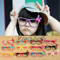 Free ship!20piece!Children rabbit spectacle frames / chaomeng rabbit ears bow eyeglass frame