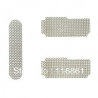 Full set of Earpiece Speaker Dust Cover for iP**** 4S(1pcs earpiece anti dust mesh+2pcs microphone anti dust mesh)