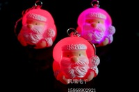 Luminous 0756 keychain christmas small gift flash keychain