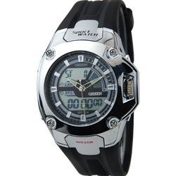 2012 Men New Style OHSEN Watch High Quality Unique Design 3 ATM Water Resistant WOH0908(China (Mainland))