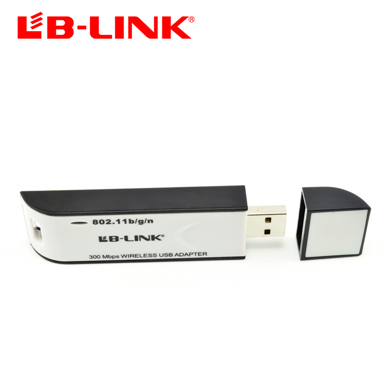 B-link usb wireless network card 300m desktop laptop tv wifi receiver(China (Mainland))