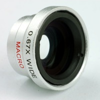 0.67X Wide Angle/Macro Detachable Lens for iPhone Mobile Phone Retail
