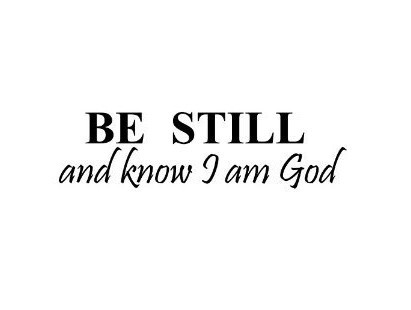 BE STILL AND KNOW THAT I AM GOD Vinyl wall lettering stickers quotes...(China (Mainland))