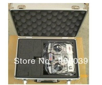 Free shipping Transmitter aluminium box equipment box remote control alu case for JR KDS ESKY Walkera Flysky tx case aluminum