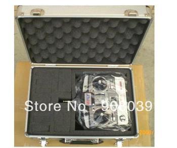 Free shipping Transmitter aluminium box equipment box remote control alu case for JR KDS ESKY Walkera Flysky tx case aluminum