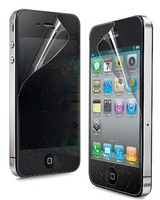(50pcs/lot) Front and Back clear Screen Protector for iphone 4 4S (Free shipping)