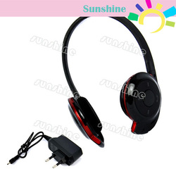 4pcs/Lot New BH-503 Stereo Bluetooth Headset Earphone Headphonewith EU Plug Adapter TK0050(China (Mainland))