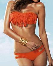 popular orange bathing suit