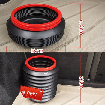 20pcs Multi-function Collapsible Car Magic Food Water Container Rubbish Barrels Folding Telescopic Garbage Case Free Shipping