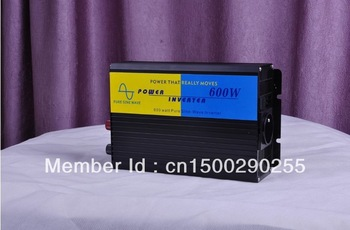 Hot sales 600w Power Output Sine Wave Solar Inverter for off grid solar power system