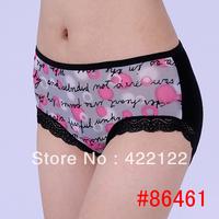 women modal lace many color size sexy underwear/ladies panties/lingerie/bikini underwear pants/ thong/g-string 6461-4pcs