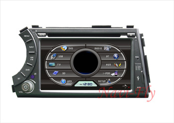 Free shipping Ssangyong Kyron CAR DVD Player Built-in GPS Bluetooth CD MP3/4 Radio Tuner TV ipod rds
