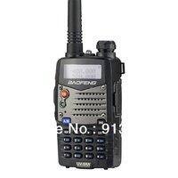 Baofeng walkie-talkie UV-5RA+ Plus 136-174MHz & UHF400-470MHz(TX/RX) Dual Band 4W/1W 128CH FM 65-108MHz with Free Earphone