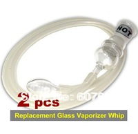 2PCS/lot   Replacement Glass Vaporizer Whip New Low Price