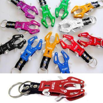 Free Shipping New Durable Multifunction Climb Clip Hook Carabiner Lock Keychain Keyring #B329