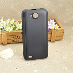 Soft TPU Gel Back Case For Fly IQ446 Magic Cell Phone Anti-skid Style Black Color Free Shipping(China (Mainland))