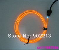 Orange lighting 2.3mm  Flexible el wire Neon Lighting cable