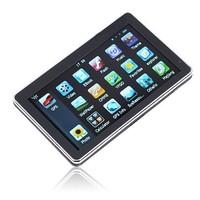 "5.0"" LCD Car Touchscreen GPS Navigation Map MP3 PND 4GB"